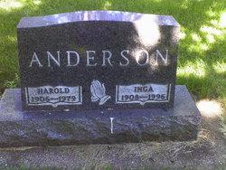 Inga <I>Hagen</I> Anderson