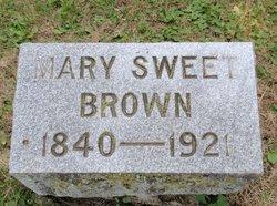 Mary Sophia <I>Sweet</I> Brown