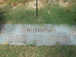 Dorothy <I>Cummings</I> Borden