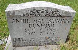 Annie Mae <I>Hutcherson</I> Dunford
