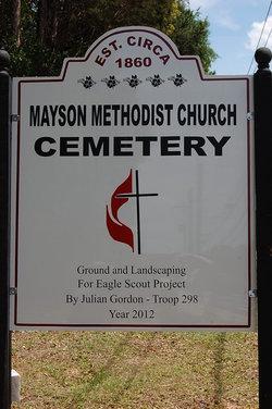 Mayson Methodist Church Cemetery