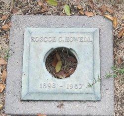 Roscoe C Howell