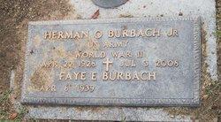 Herman O Burbach, Jr
