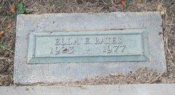 Ella E Bates