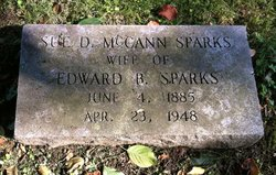 Sue D. <I>McCann</I> Sparks