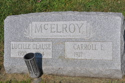 Inez Lucille <I>Clause</I> McElroy