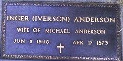 Inger <I>Iverson</I> Anderson