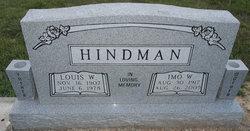 Imo W. <I>Lunsford</I> Hindman