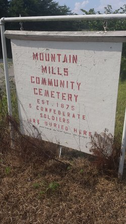 Mountain Mills Community Cemetery
