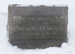 Caroline Beatrice <I>Peterson</I> Clawson