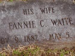 Fannie Calista <I>Waite</I> Virgin