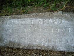 Mamie R. Adams