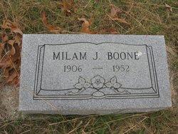 Milam J Boone