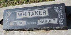 Nora Mildred <I>Newton</I> Whitaker