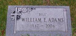 """William E """"Bill"""" Adams"""