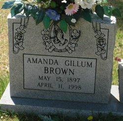 "Amanda ""Mandy"" <I>Gillum</I> Brown"