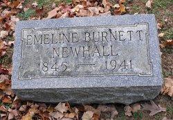Emeline <I>Burnett</I> Newhall