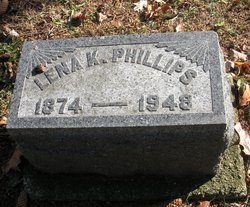 Lena K <I>Kingsley</I> Phillips