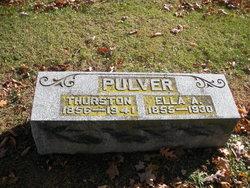 Thurston Calvin Pulver