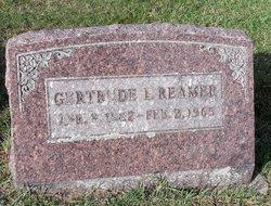 Gertrude L Reamer