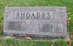 """Sarah E """"Sadie"""" <I>Duryee</I> Rhoades"""