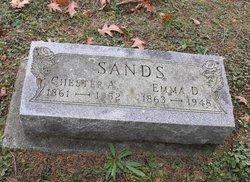 Emma Drucilla <I>Porter</I> Sands