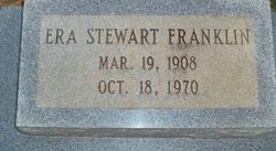 Era <I>Stewart</I> Franklin