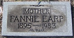 Fannie E. <I>Cummings</I> Earp