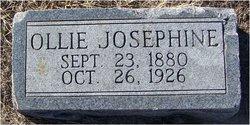 Ollie Josephine <I>Burns</I> Johnson
