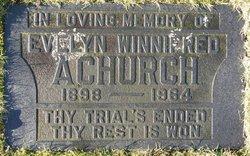 Evelyn Winnifred <I>Kilsby</I> Achurch