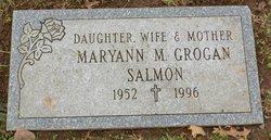 Maryann M <I>Grogan</I> Salmon