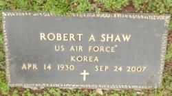 Robert A Shaw