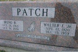 Walter E Patch, Jr