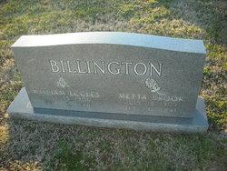 Metta Brook <I>Washam</I> Billington
