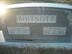 Pearl E. Boitnott