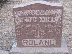 M. Elizabeth <I>Parker</I> Roland