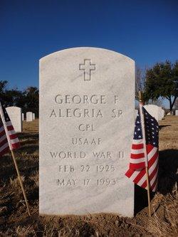 George F Alegria