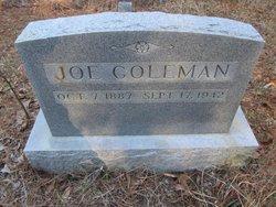 """William Lewis """"Joe"""" Coleman"""