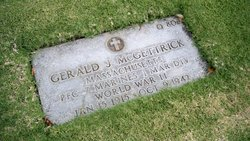 PFC Gerald J McGettrick