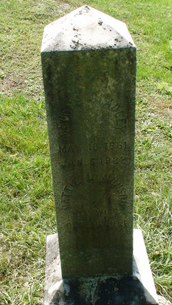 "Harriet Urania ""Hattie"" <I>Munson</I> Bradley"