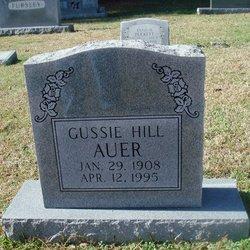 Gussie <I>Hill</I> Auer