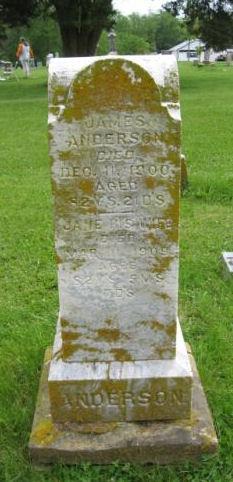 Jane <I>Pettigrew</I> Anderson