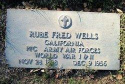 """Rube Fredrick """"Fred"""" Wells, Sr"""