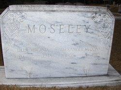 Alexander McDonald Moseley