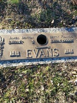 Betty Lou <I>Price</I> Evans
