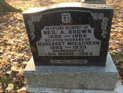Margaret <I>McEachern</I> Brown