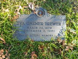 Eva <I>Garner</I> Brewer