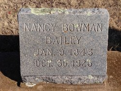 Nancy J <I>Bowman</I> Bailey
