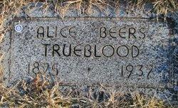 Alice Virginia <I>Beers</I> Trueblood