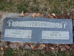Annie Margaret <I>Taylor</I> Iverson